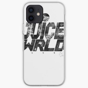 JuiceWRLD text graphic iPhone Soft Case RB0406 product Offical Juice WRLD Merch
