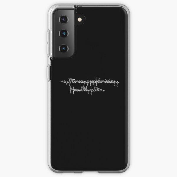 JuiceWrld Lyrics// Can't Die Samsung Galaxy Soft Case RB0406 product Offical Juice WRLD Merch