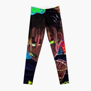 JuiceWrld colorful Abstract Leggings RB0406 product Offical Juice WRLD Merch