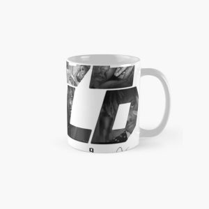 JuiceWRLD text graphic Classic Mug RB0406 product Offical Juice WRLD Merch