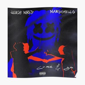 Come & Go - JuiceWRLD and Marshmello Poster RB0406 product Offical Juice WRLD Merch