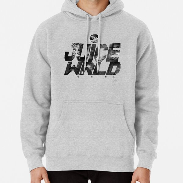 JuiceWRLD text graphic Pullover Hoodie RB0406 product Offical Juice WRLD Merch