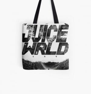Juicewrld-999 design   All Over Print Tote Bag RB0406 product Offical Juice WRLD Merch