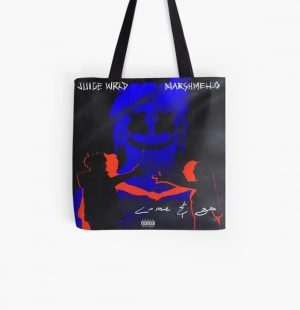 Come & Go - JuiceWRLD and Marshmello All Over Print Tote Bag RB0406 product Offical Juice WRLD Merch