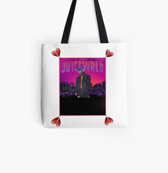 Juicewrld/goodies All Over Print Tote Bag RB0406 product Offical Juice WRLD Merch