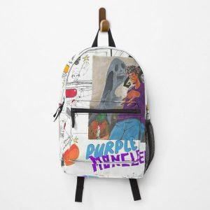 JuiceWRLD Purple Moncler Backpack RB0406 product Offical Juice WRLD Merch