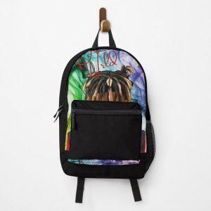 JuiceWrld Colorful Backpack RB0406 product Offical Juice WRLD Merch