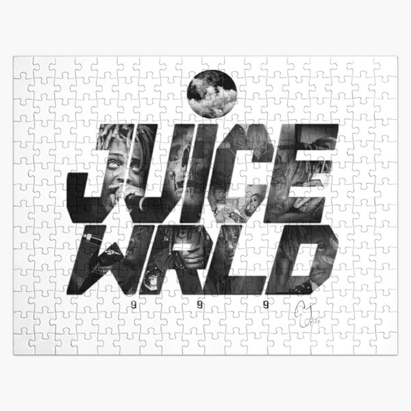 JuiceWRLD text graphic Jigsaw Puzzle RB0406 product Offical Juice WRLD Merch