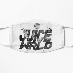 Juicewrld-999 design   Flat Mask RB0406 product Offical Juice WRLD Merch