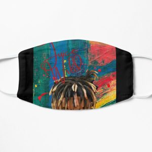 JuiceWrld Abstract Flat Mask RB0406 product Offical Juice WRLD Merch