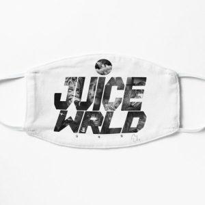 JuiceWRLD text graphic Flat Mask RB0406 product Offical Juice WRLD Merch