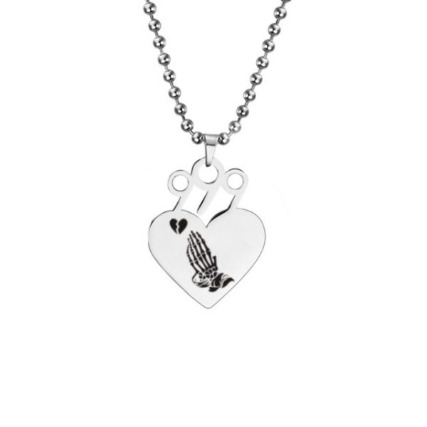 2020 Juice WRLD Pendant Necklace Beads Stainless Steel Necklace For Women Man Fans Gift Collares Mujer 3.jpg 640x640 3 - Juice Wrld Store