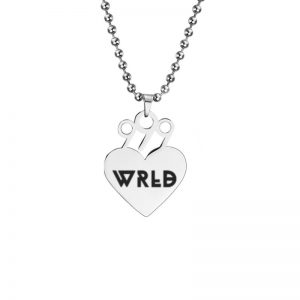 2020 Juice WRLD Pendant Necklace Beads Stainless Steel Necklace For Women Man Fans Gift Collares Mujer 5 - Juice Wrld Store