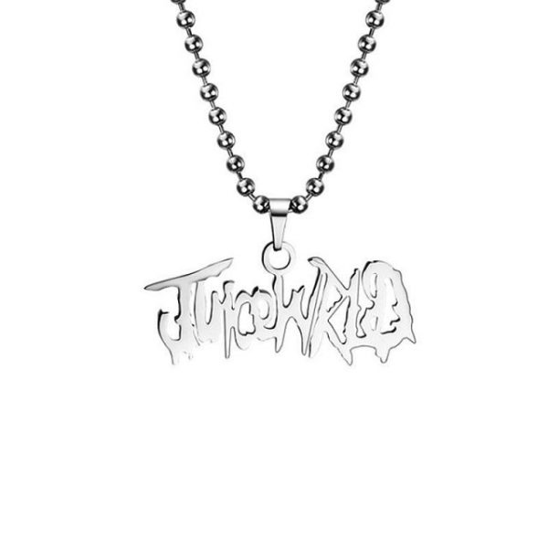 2020 Juice WRLD Pendant Necklace Beads Stainless Steel Necklace For Women Man Fans Gift Collares - Juice Wrld Store