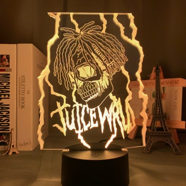 3d Night light Lamp Juice WRLD Led Night Light for Home Decoration Colorful Night light Gift 1 - Juice Wrld Store