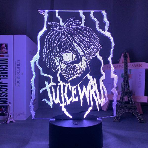 3d Night light Lamp Juice WRLD Led Night Light for Home Decoration Colorful Night light Gift 2 - Juice Wrld Store