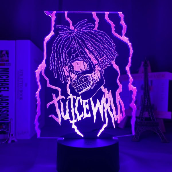 3d Night light Lamp Juice WRLD Led Night Light for Home Decoration Colorful Night light Gift - Juice Wrld Store