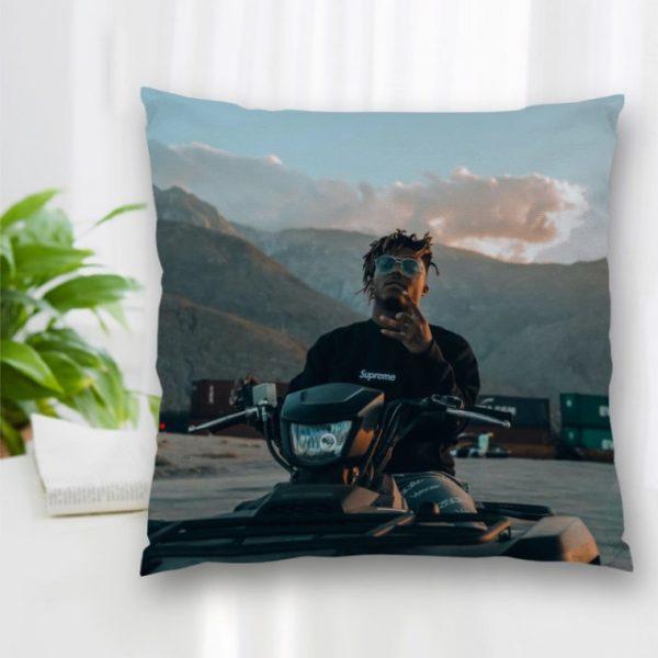 Cushion Juice WRLD Rapper Pattern Cover Throw Pillow Case Cushion For Sofa Home Car Decor Zipper 1.jpg 640x640 1 - Juice Wrld Store