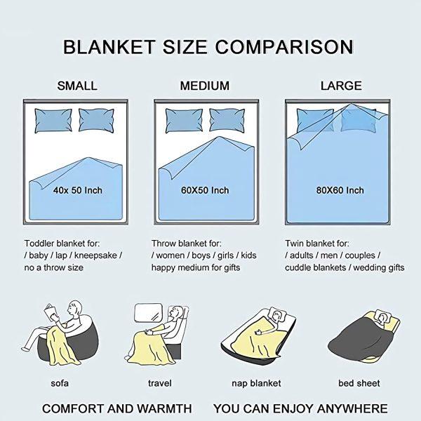 JUICE WRLD Blanket Warm Cozy Letter Throw Blanket Print on Demand Sherpa Blankets for Sofa Thin 4 - Juice Wrld Store