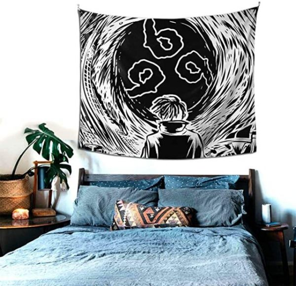 Juice Wrld 999 Tapestry Wall Hanging Colorful Fashion Rapper Wall Blanket Interior Decoration Bedroom Dormitory Apartment 2.jpg 640x640 2 - Juice Wrld Store
