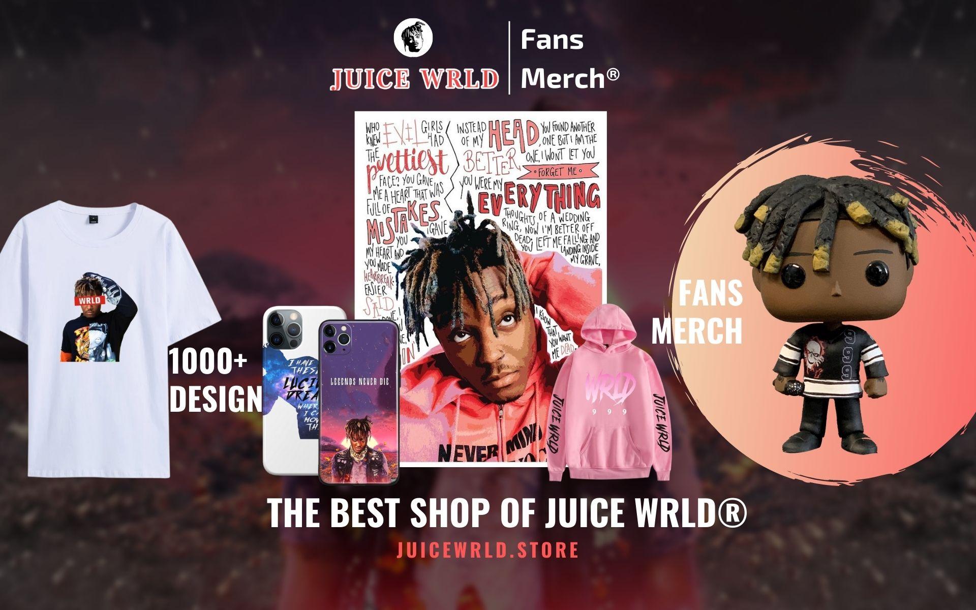 Juice Wrld Merch Web Banner - Juice Wrld Store