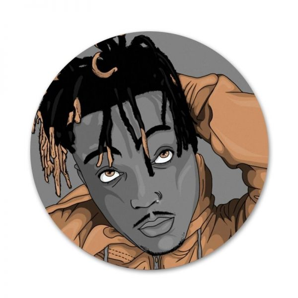 Rapper Juice WRLD Badge Brooch Pin Accessories For Clothes Backpack Decoration gift 1 - Juice Wrld Store