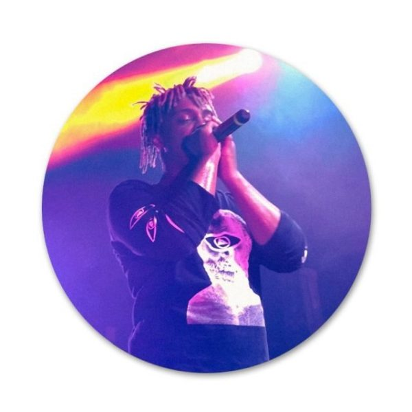 Rapper Juice WRLD Badge Brooch Pin Accessories For Clothes Backpack Decoration gift 7.jpg 640x640 7 - Juice Wrld Store