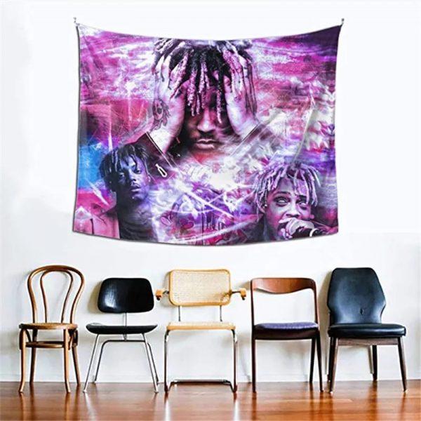 Juice Wrld Blanket: Juice Wrld Tapestry Wall Hanging