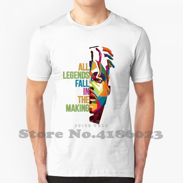 "Juice Wrld ""All Legends Fall In The Making"" T-shirt - JWM1809"