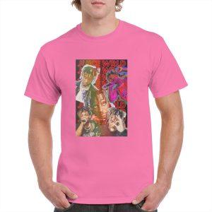 "Juice WRLD ""Legends Never Die"" t shirt - Juice Wrld Merch - JWM1809"