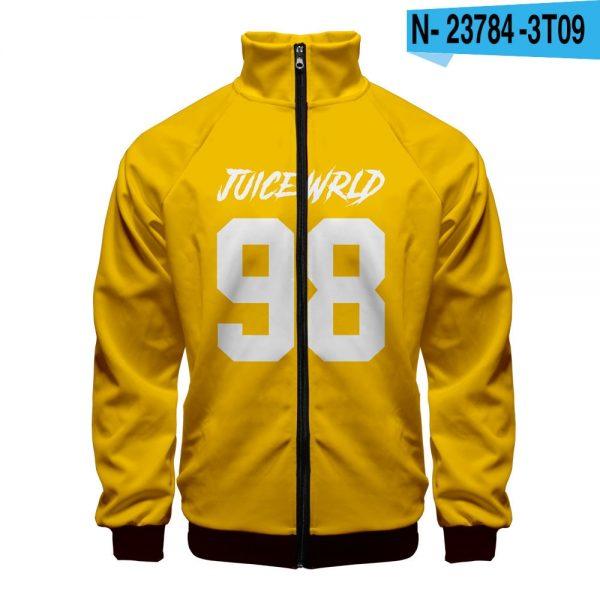 Juice Wrld 98 New Zipper Sweatshirt jacket - JWM1809