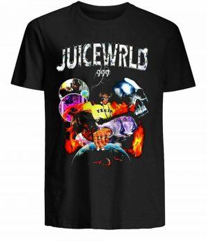 Juice Wrld 999 Album Wrld Tour T-Shirt - JWM1809