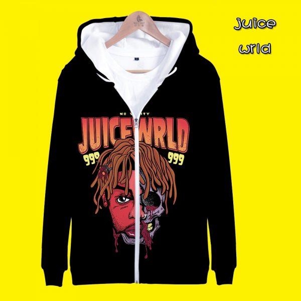 Juice Wrld Zipper hoodies jackets - JWM1809