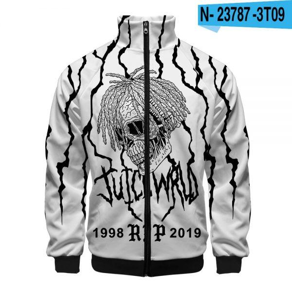 Juice Wrld 3D New Zipper Sweatshirt jacket - JWM1809