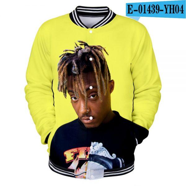 Juice Wrld 3D Print College Jacket Sweatshirt - JWM1809
