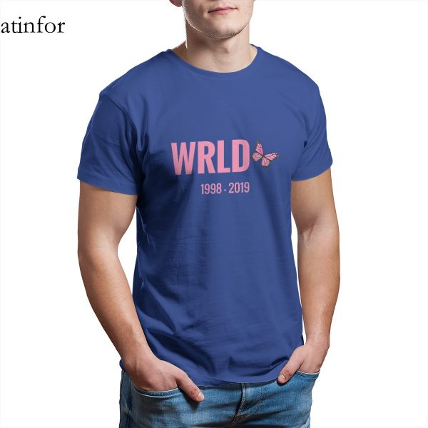 Juice Wrld  Butterfly Tribute T-Shirt - JWM1809