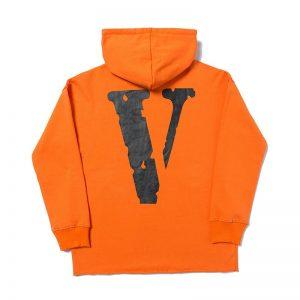 Vlone Friends Classic Orange Hoodie - JWM1809