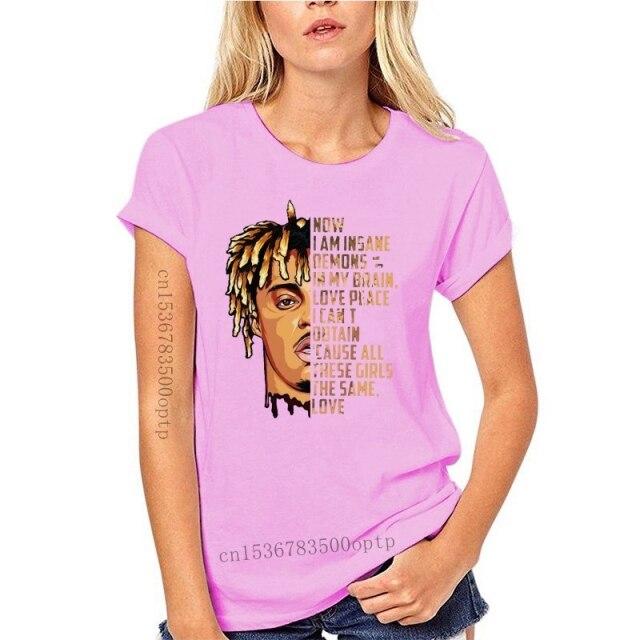 New JUICE WRLD Now I am insane All these girls the same love Black T shirt 8.jpg 640x640 8 - Juice Wrld Store