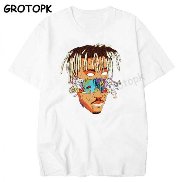 RIP JUICE WRLD 999 Rest In Heaven T Shirt Short Sleeve Hip Hop Men T Shirt - Juice Wrld Store