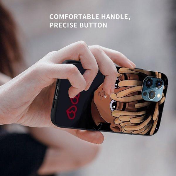 Soft Phone Case For iPhone 11 12 Pro Max XR 7 8 Plus X XS 6 4 - Juice Wrld Store