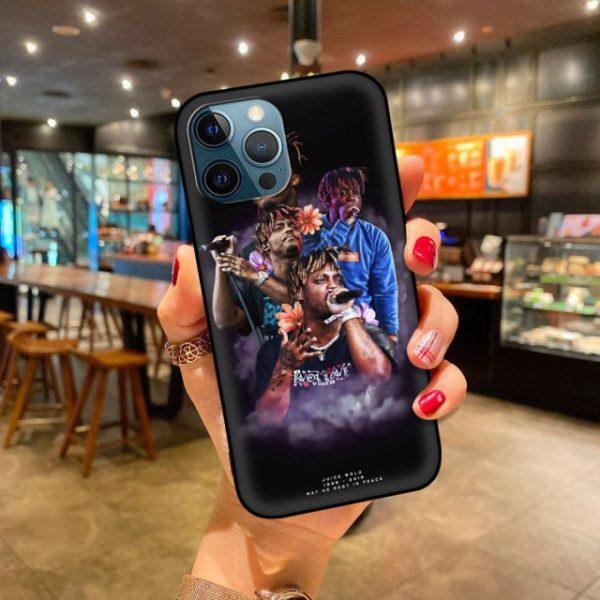Soft Phone Case For iPhone 11 12 Pro Max XR 7 8 Plus X XS 6 4.jpg 640x640 4 - Juice Wrld Store