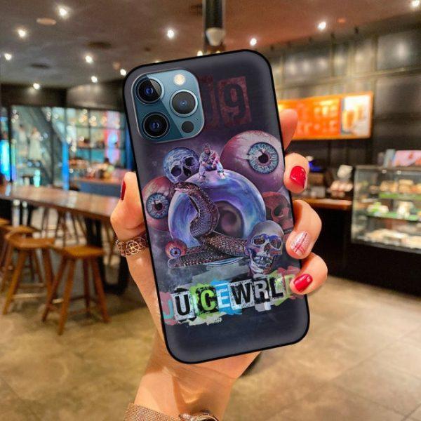 Soft Phone Case For iPhone 11 12 Pro Max XR 7 8 Plus X XS 6 6.jpg 640x640 6 - Juice Wrld Store
