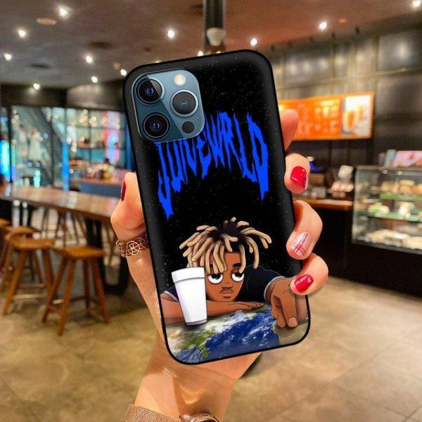 Soft Phone Case For iPhone 11 12 Pro Max XR 7 8 Plus X XS 6 7.jpg 640x640 7 - Juice Wrld Store