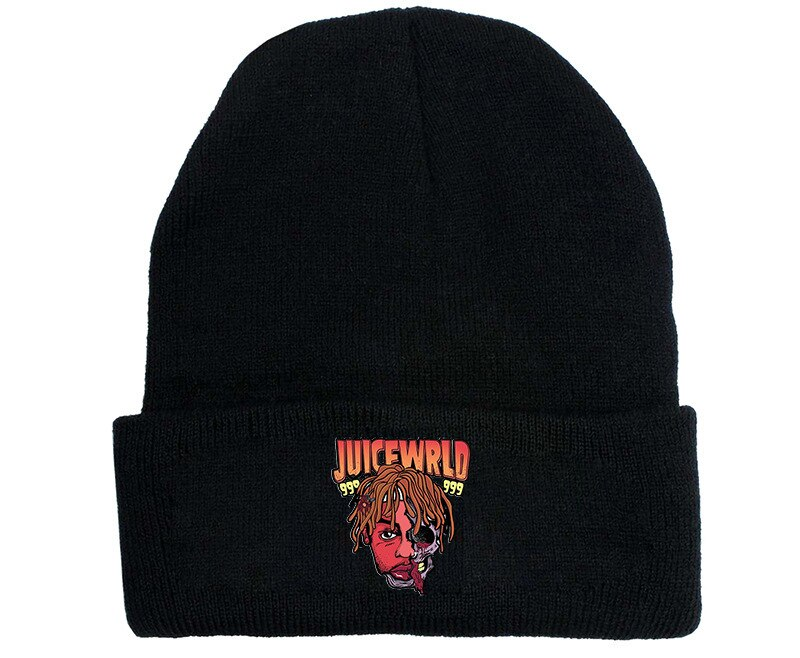 Juice Wrld Knitted Hats - Juice Wrld Unisex Hip-hop Beanies