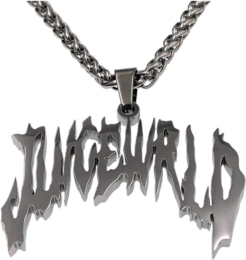 Juice Wrld Necklaces - Hip Hop Rapper Pendant Chain Necklace