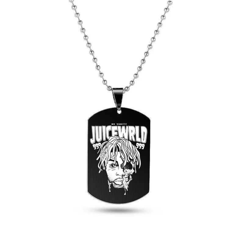 Juice Wrld Necklaces - Juice Wrld Heart Shape Necklace - copy